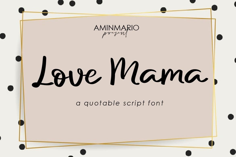 Love Mama example image 6