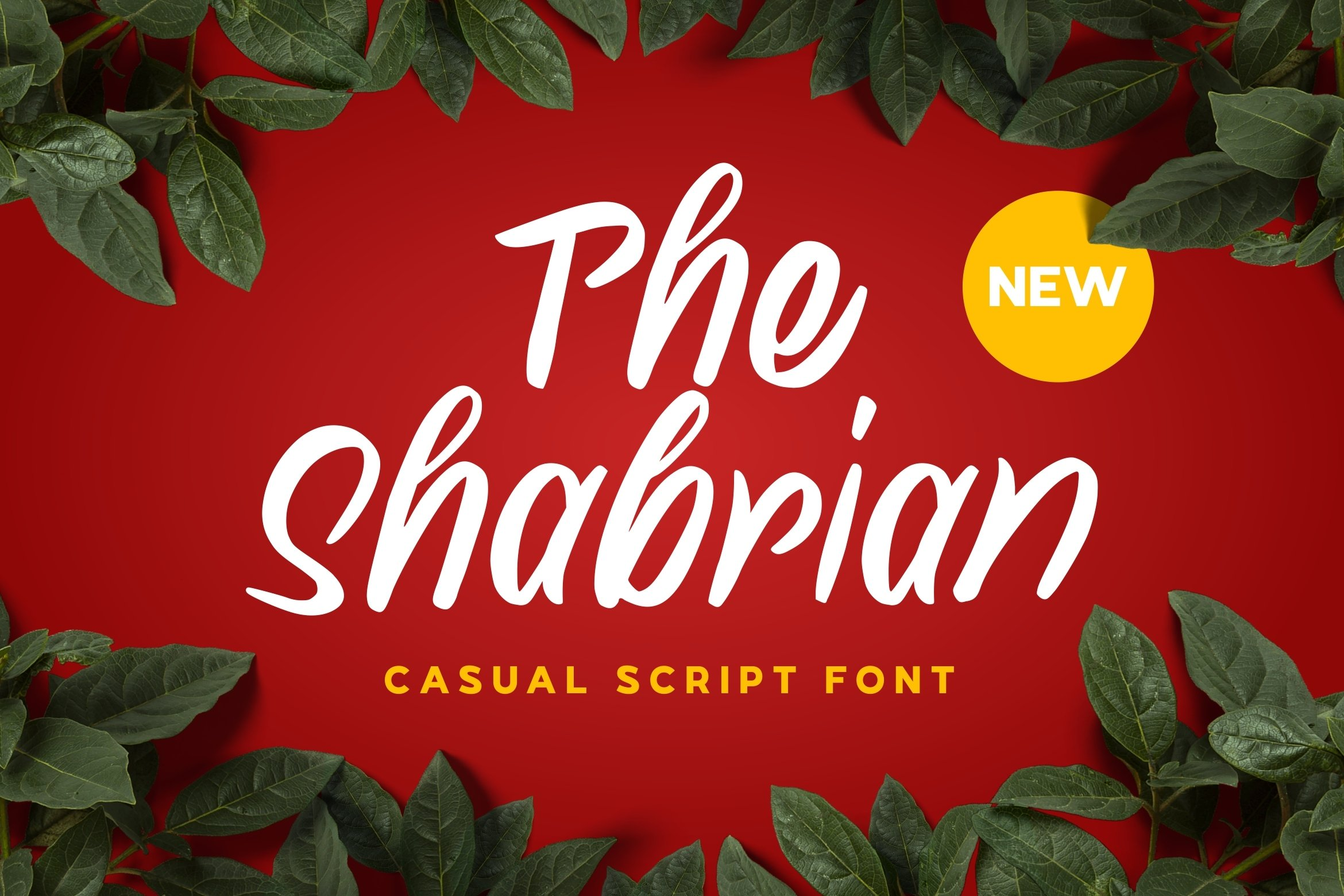 Shabrian Display Font example image 1