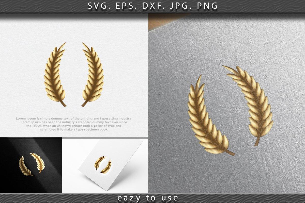 wheat, grain,agriculture logo Ideas. Inspiration logo design example image 1