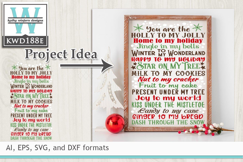 Christmas Svg Christmas Subway Art 147107 Cut Files Design Bundles