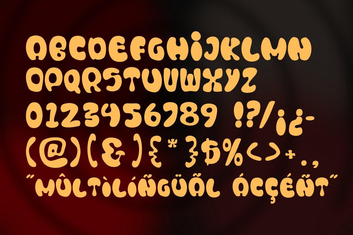 Blonkie Display Font example image 7