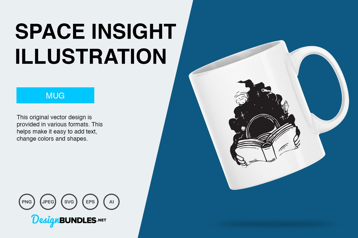 Space Insight Vector Illustration example image 4