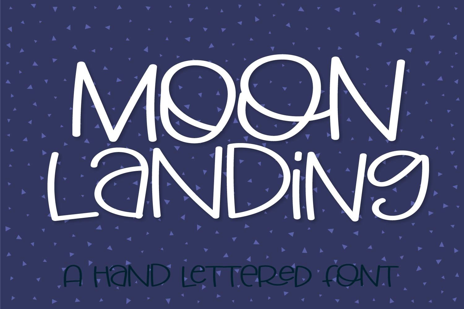 Big Moon Energy - A Hand Lettered Font example image 6