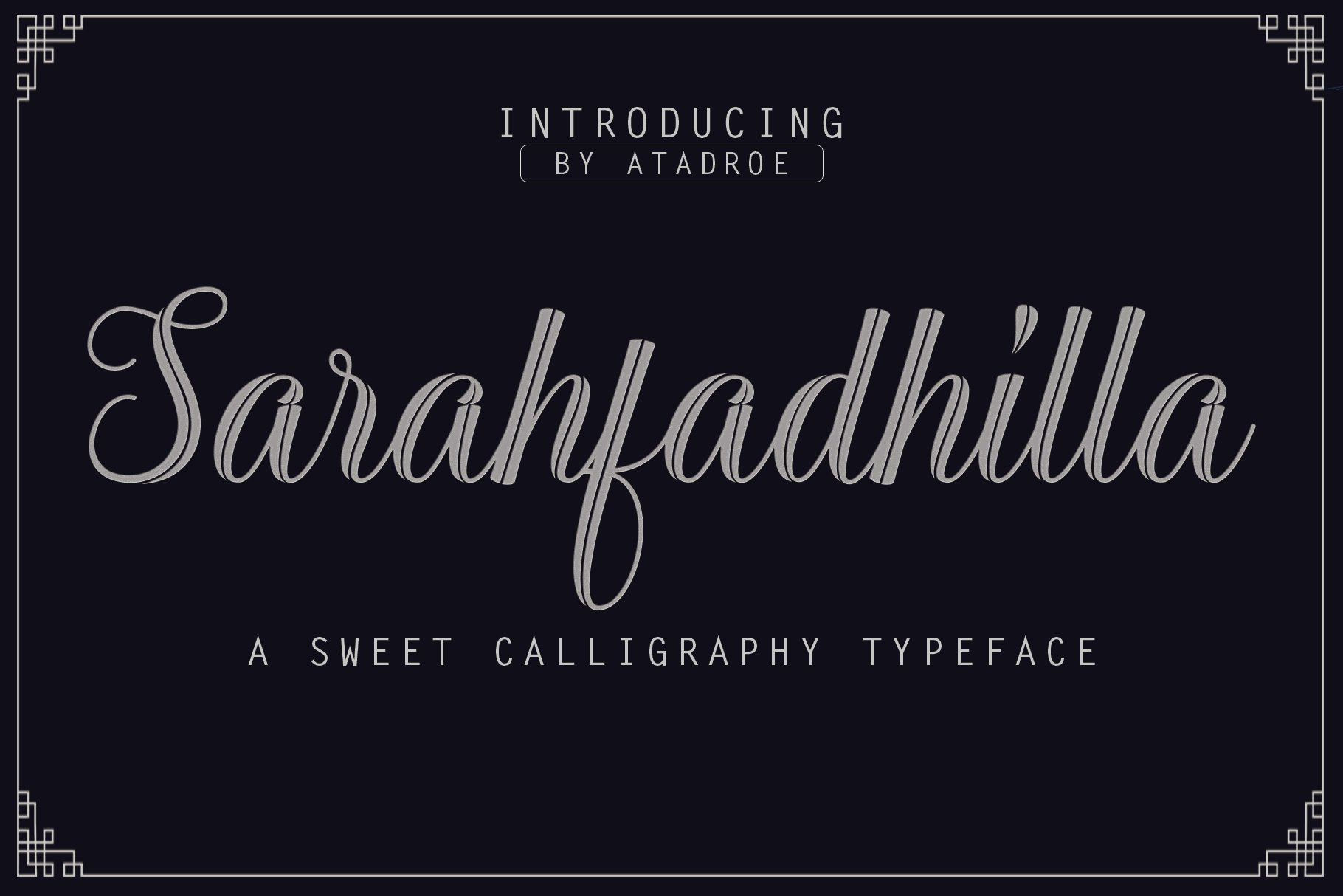 12 graceful charming fonts example image 10
