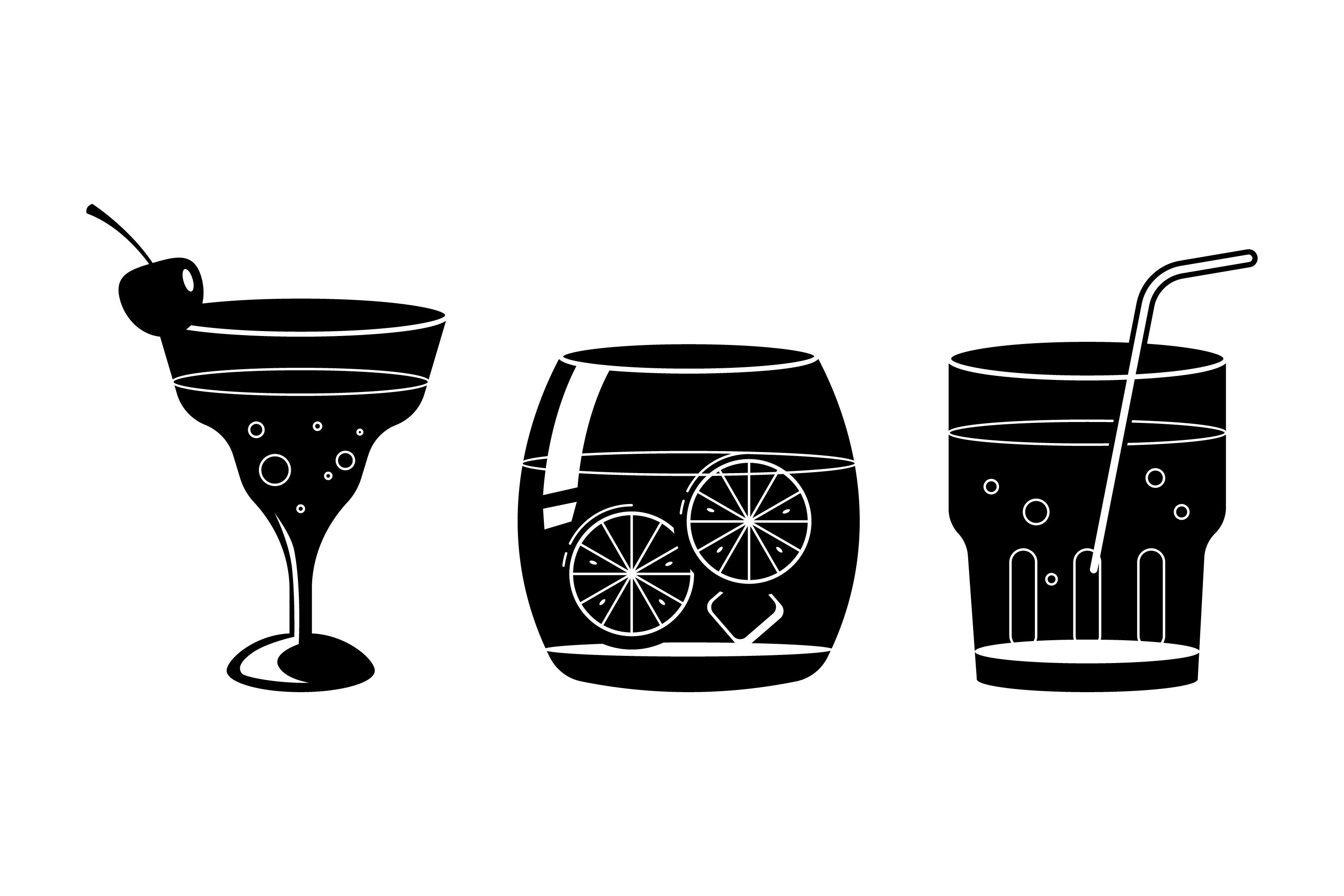 Cocktail Silhouettes example image 1