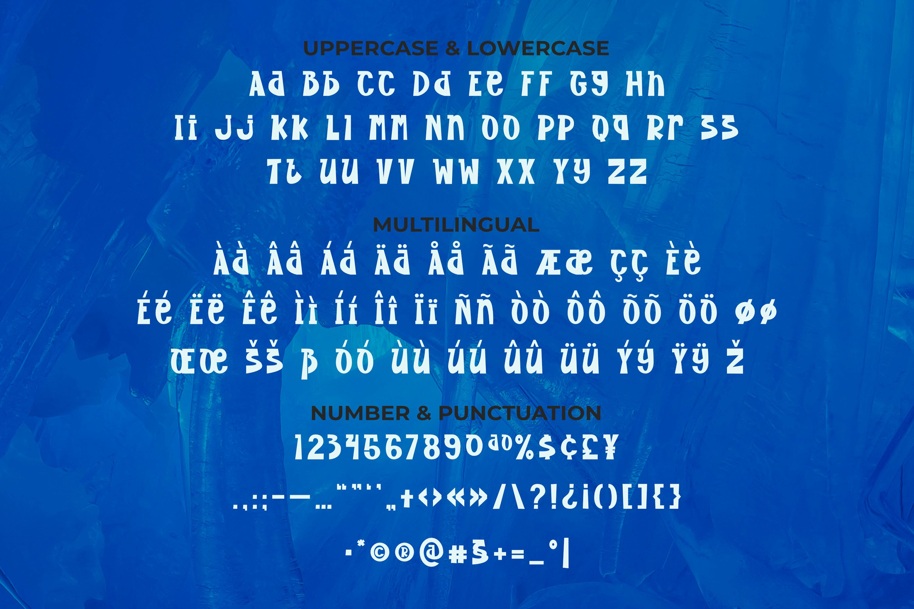 Ice cave Font example image 2