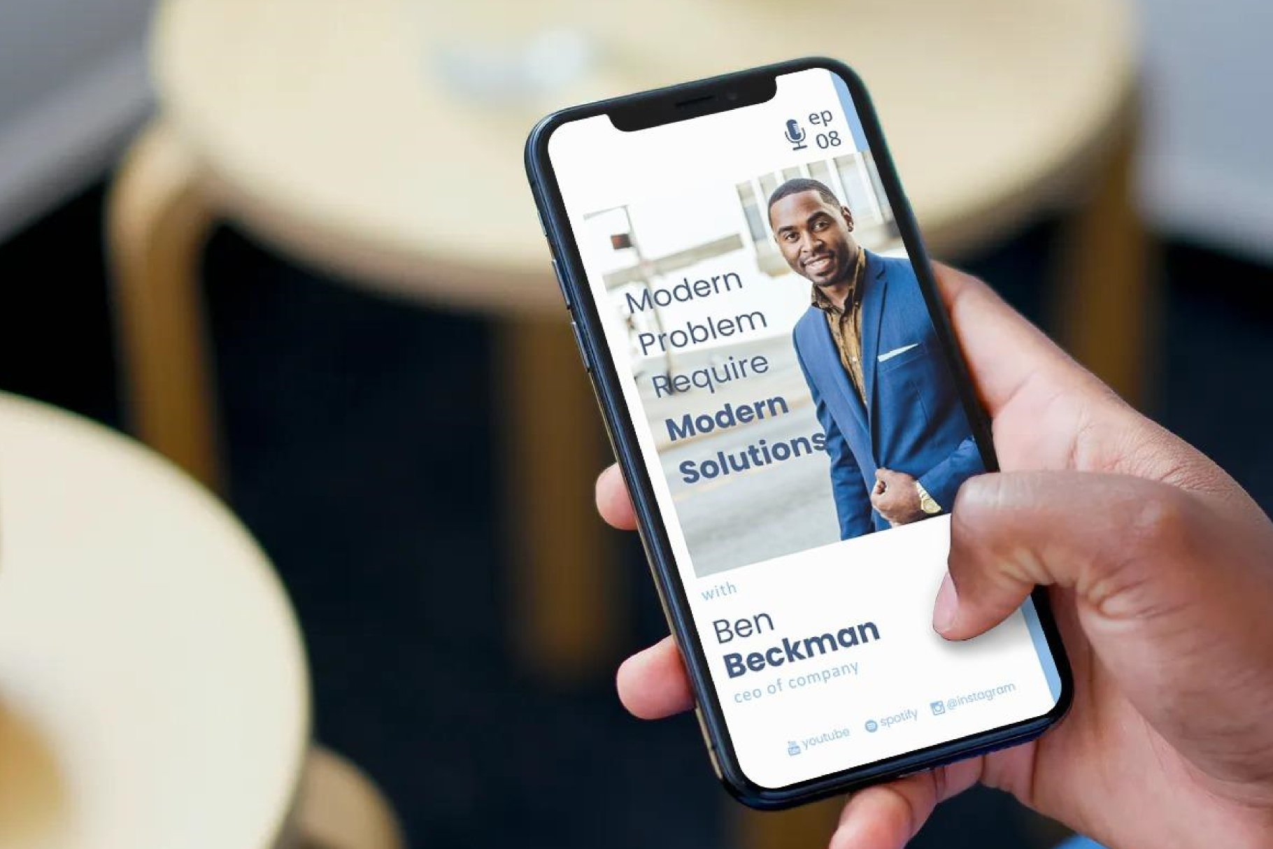 Podcast Instagram Stories and Post - Business Managing example image 2