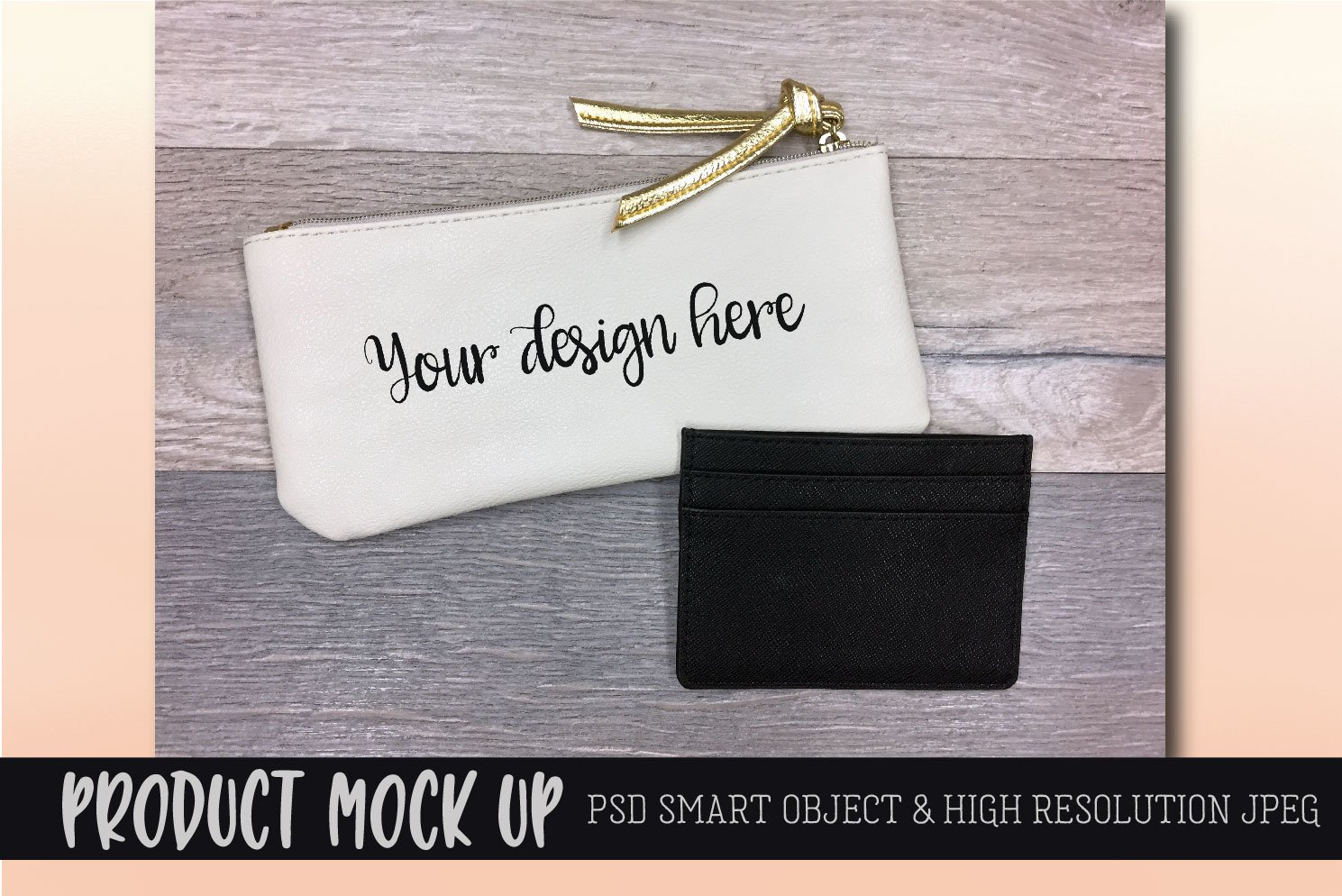 Coin Purse MOCK UP | PSD & JPEG example image 1
