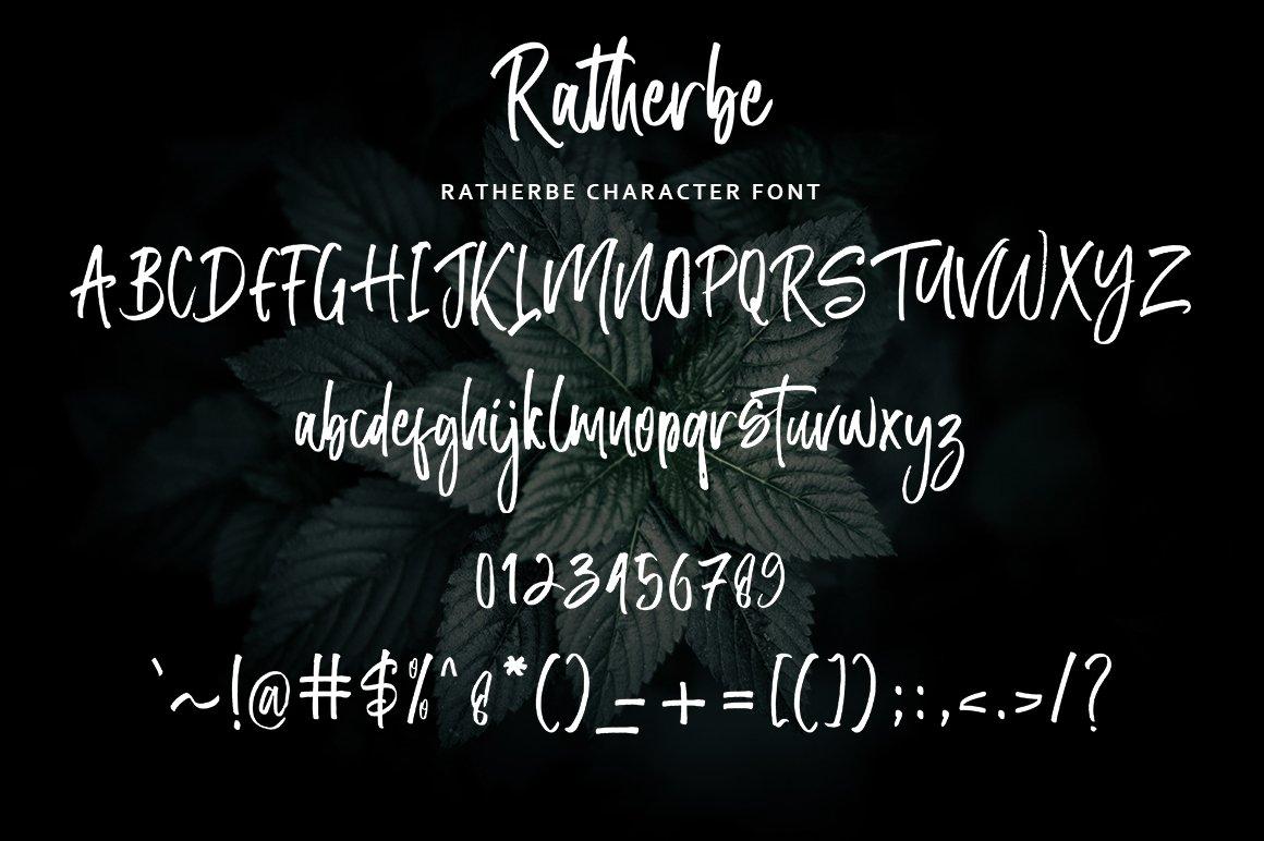 Ratherbe Script example image 9
