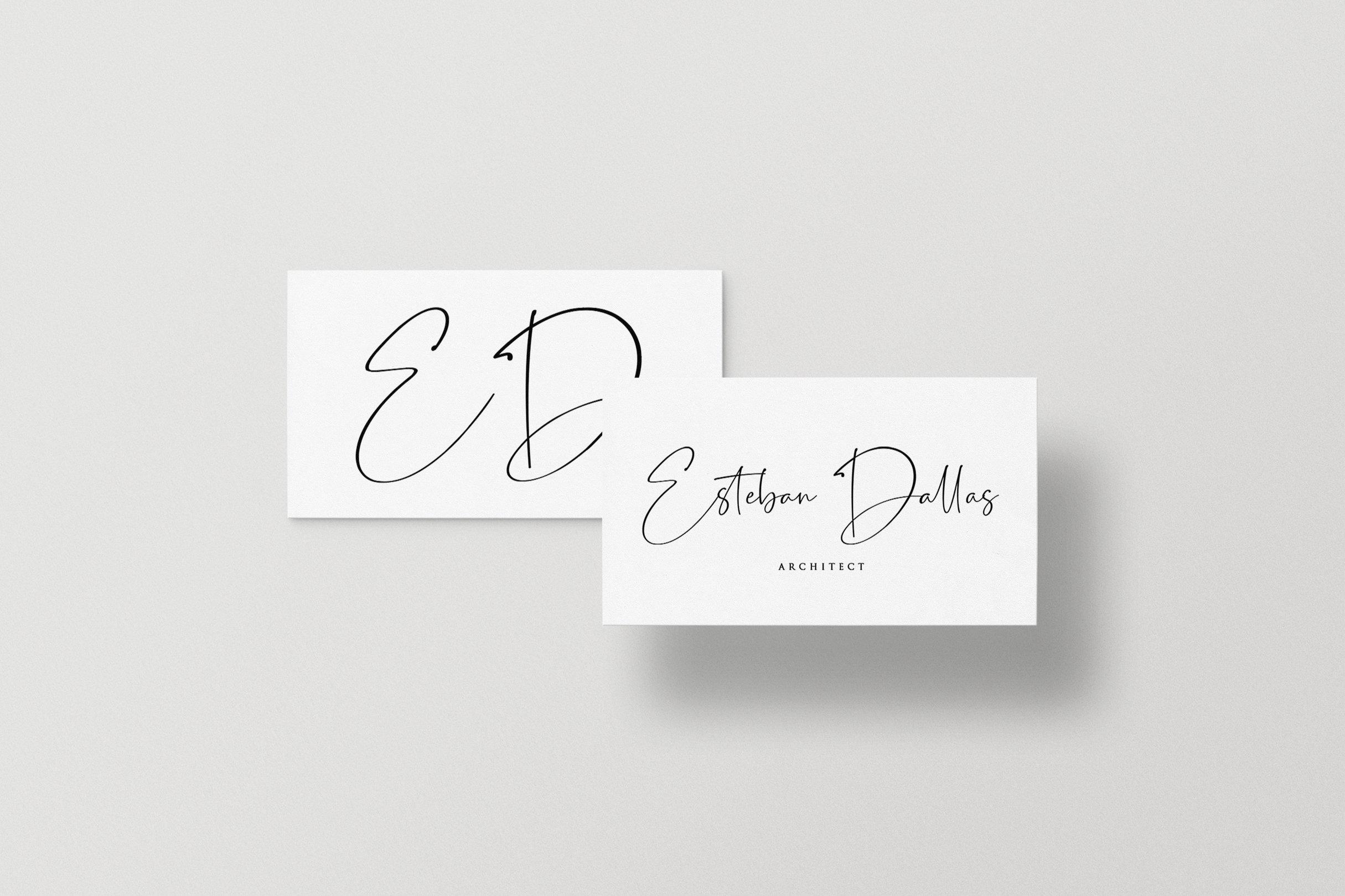Estillon - Handwritten Font example image 7