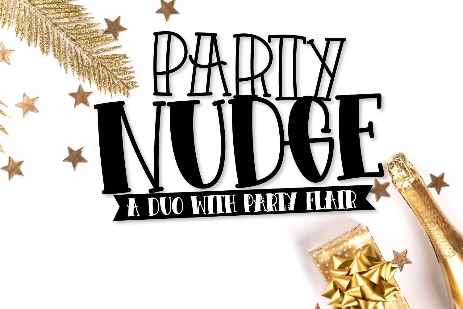 Party Nudge - A Duo with Party Flair example image 1