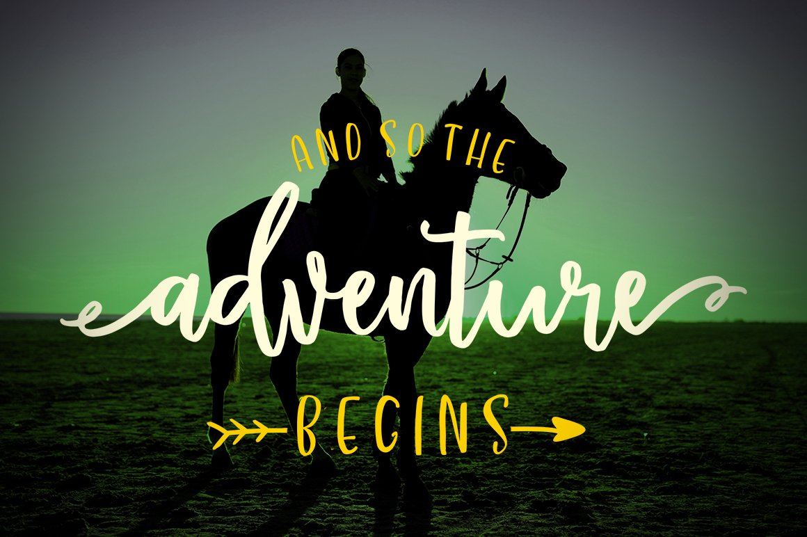Western Script Font Duo example image 4