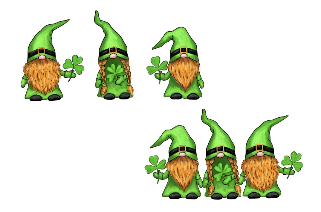 Download St. Patricks Day Gnome gPNG, Gnome Sublimation Design ...