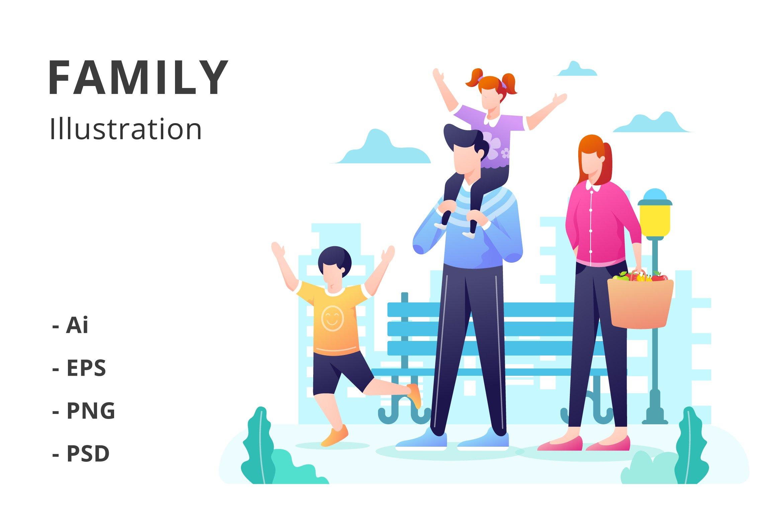 Family Illustration example image 1