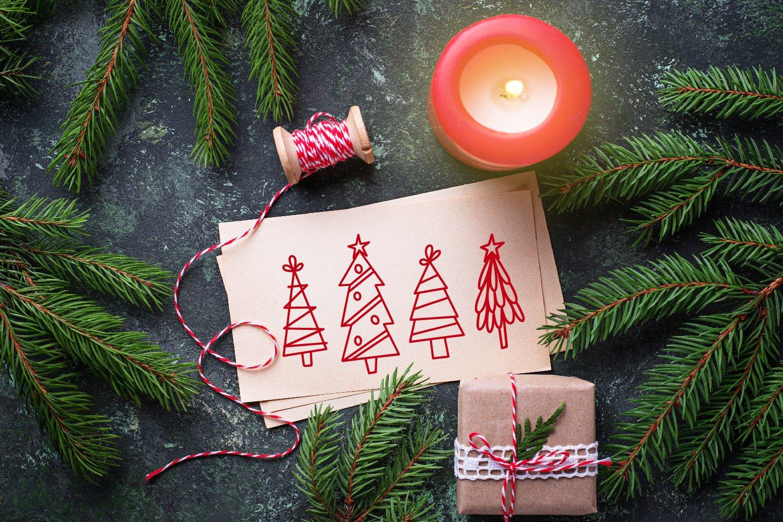 Christmas Tree Farm - A Dingbat Font example image 4
