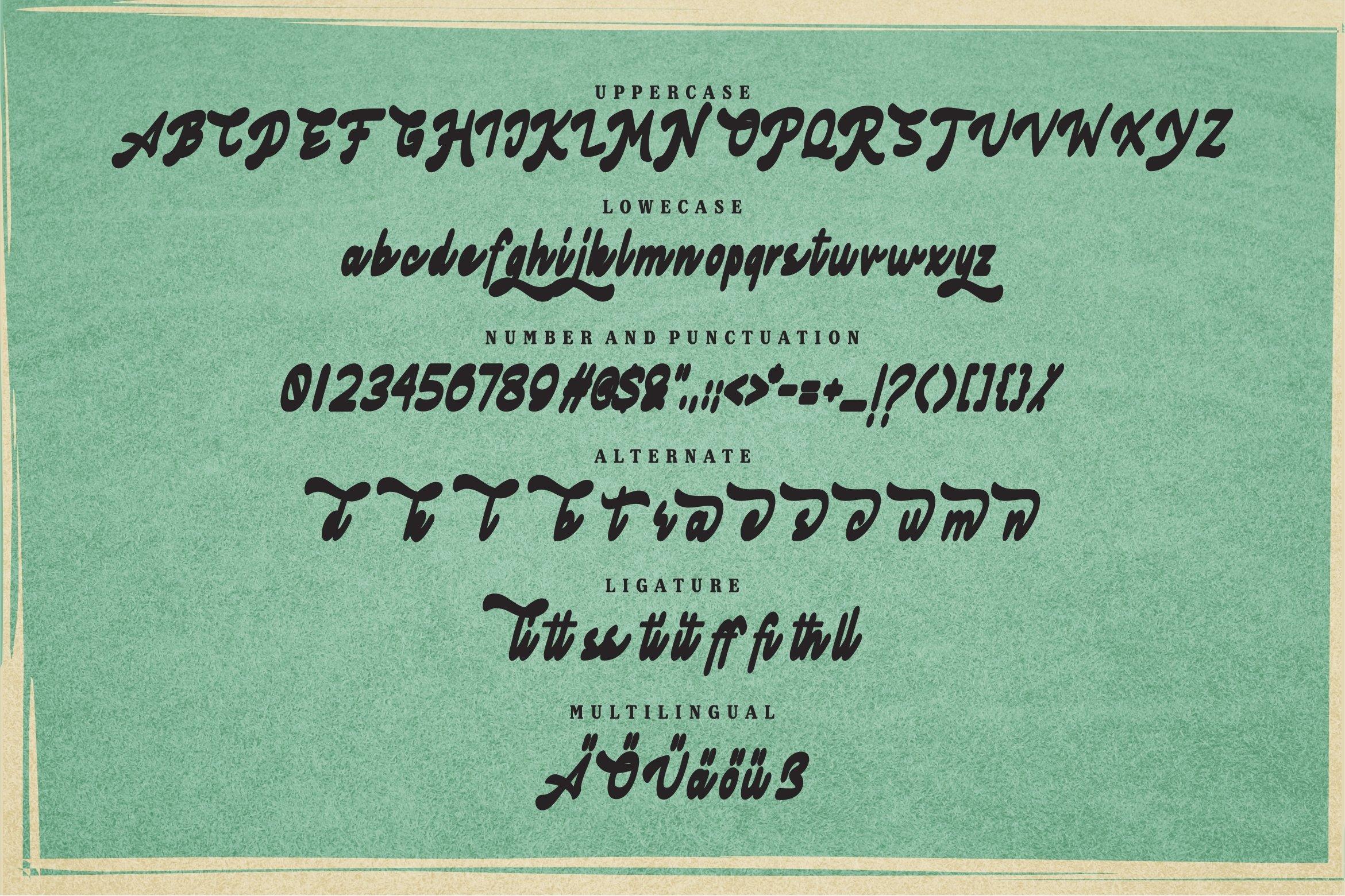Agliana - Retro Font example image 5