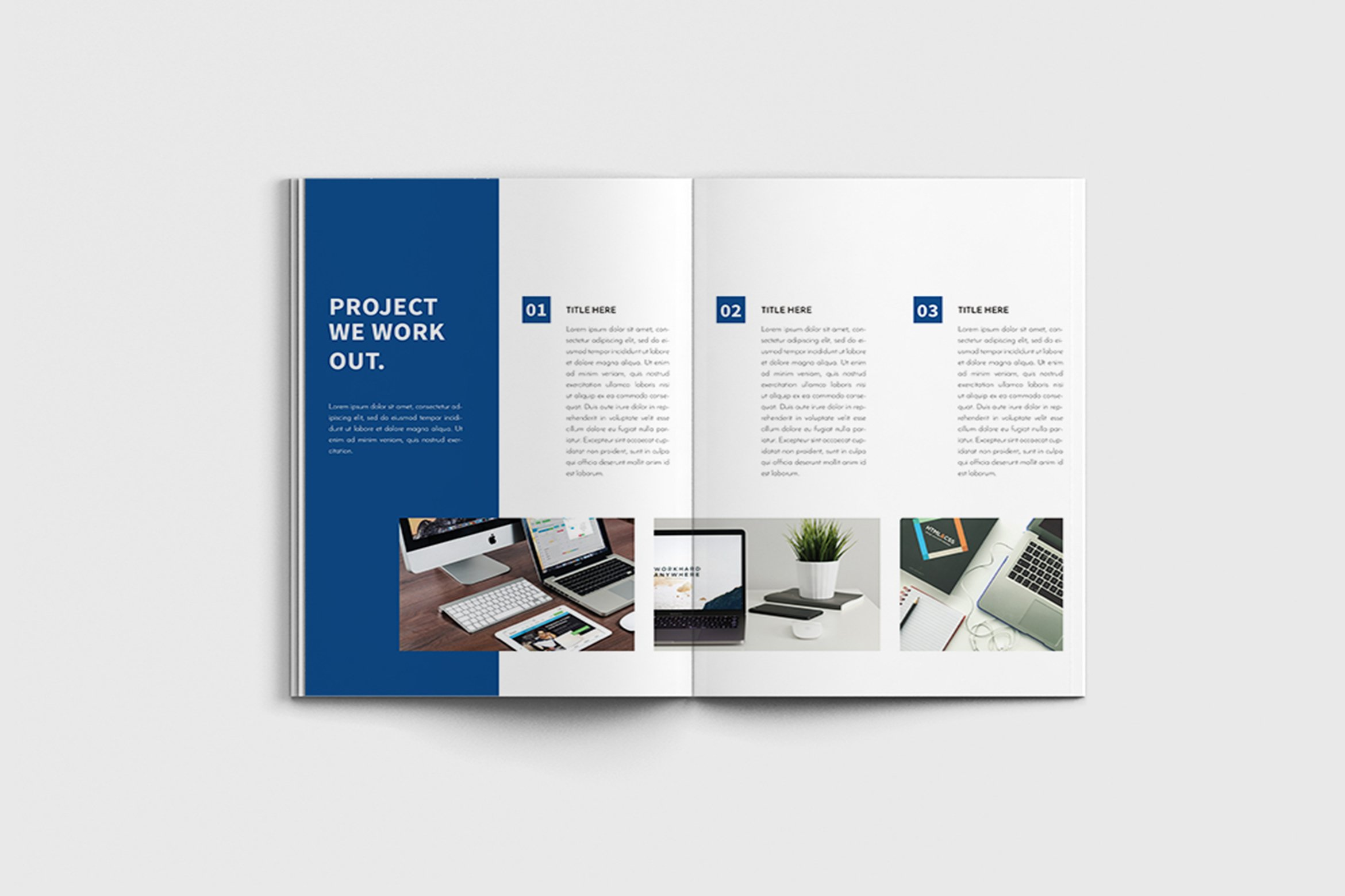 Walkers - A4 Business Brochure Template example image 5