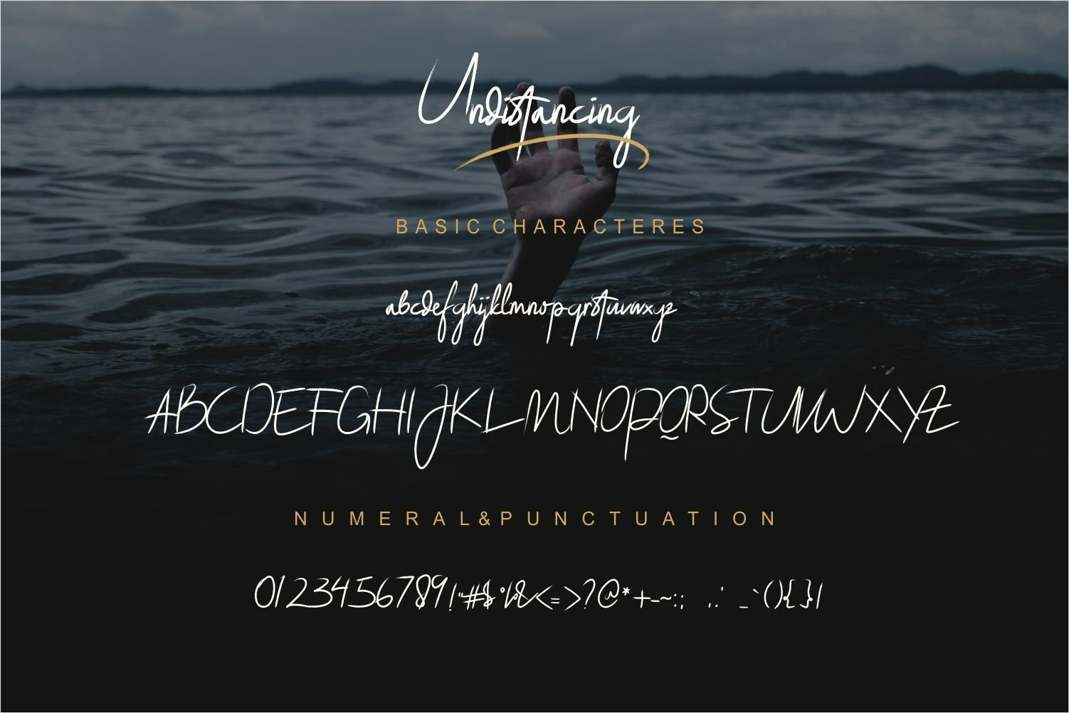 Undistancing // a Typface font Script with Swash example image 7