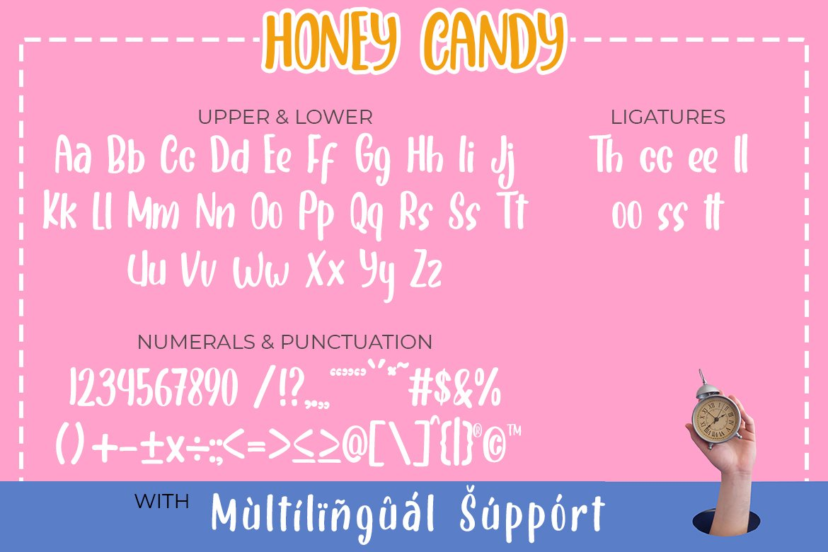 Honey Candy | Natural Handwritten Font example image 6
