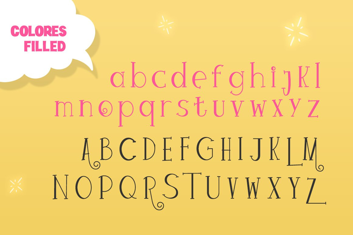 Colores Font Duo example image 6