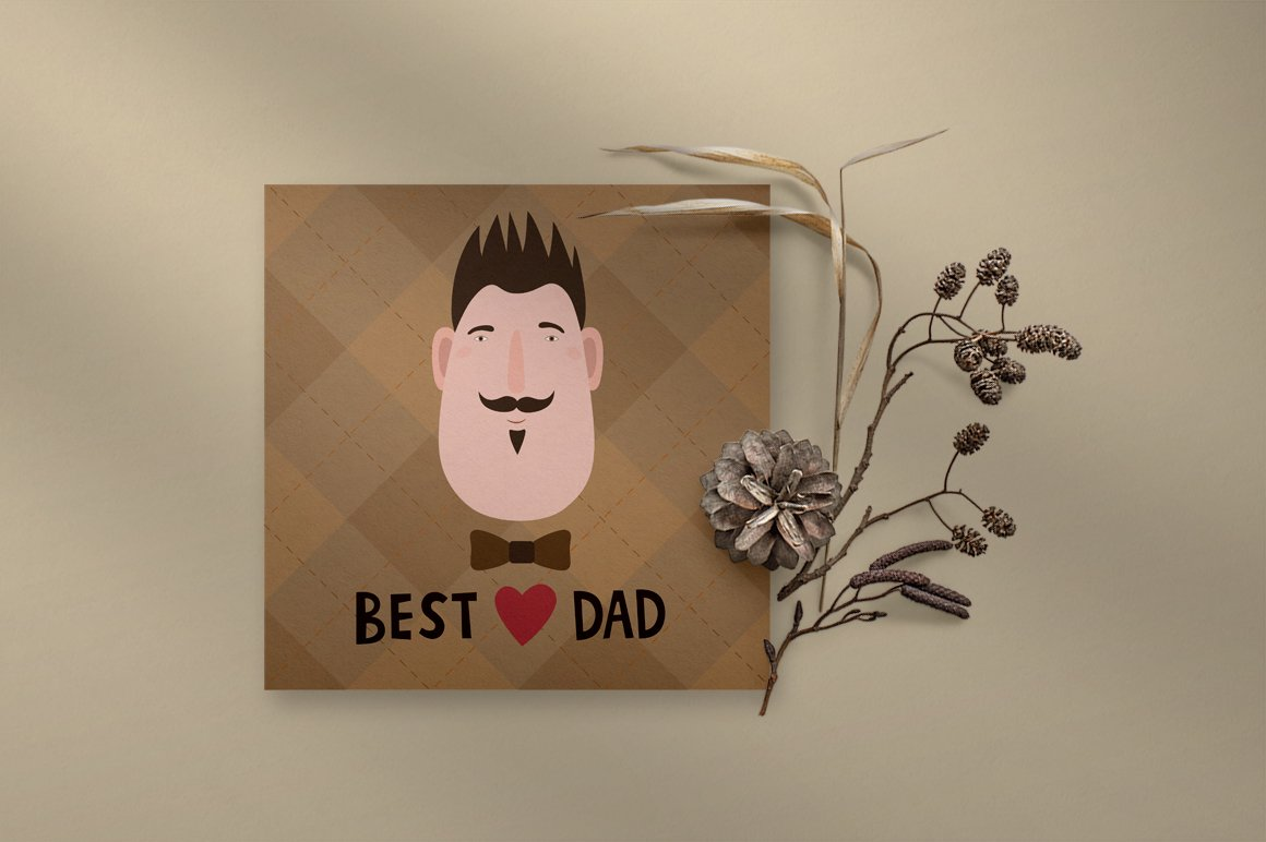 Fathers day greeting card example image 6