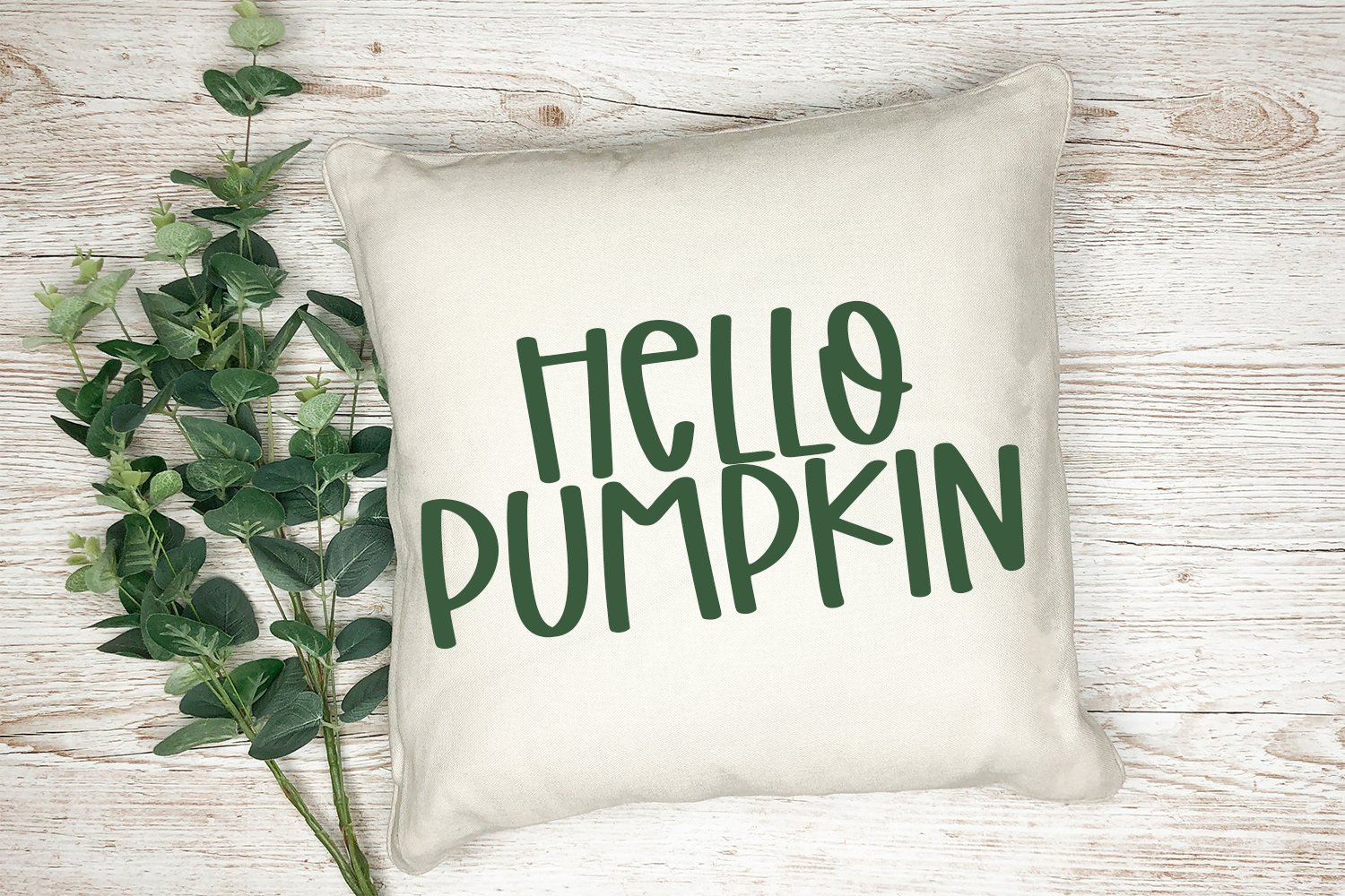 Crunchy Leaves - A Fun Hand-Lettered Font example image 4