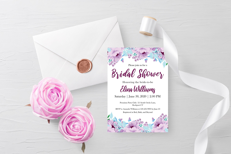 Bridal Shower Invitation example image 1