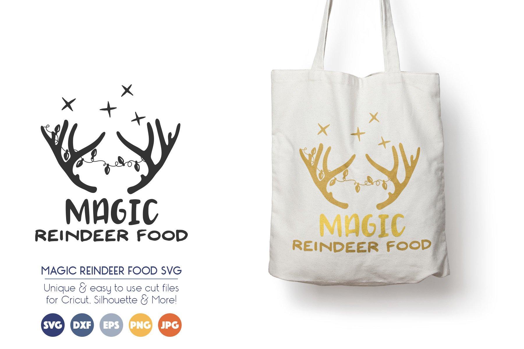 Reindeer SVG Files - Magic Reindeer Food example image 1