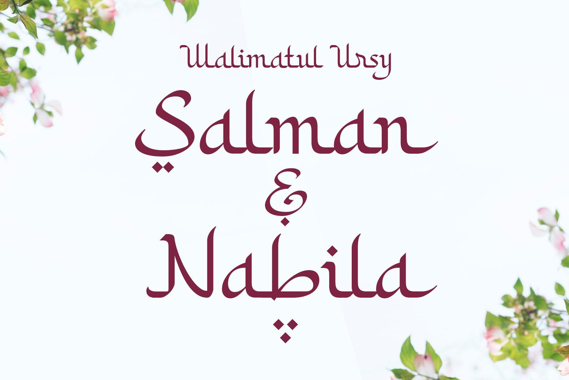 Khodijah - Arabic Style example image 3