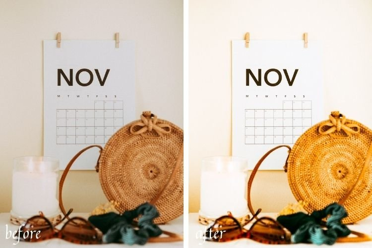 Autumn Spirit Mobile & Desktop Lightroom Presets example image 3