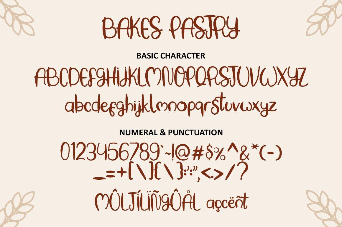 Baking Pastry - Handwritten Font example image 6