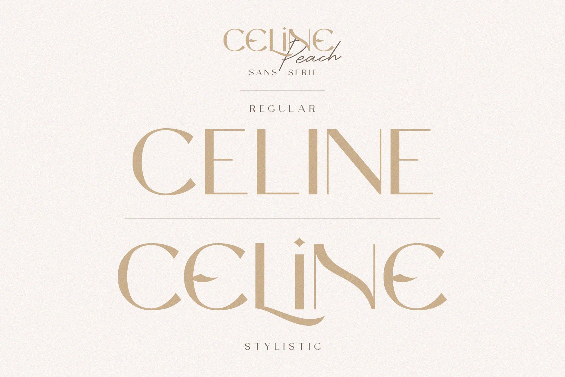 Celine Peach - A Luxury Font Duo example image 5