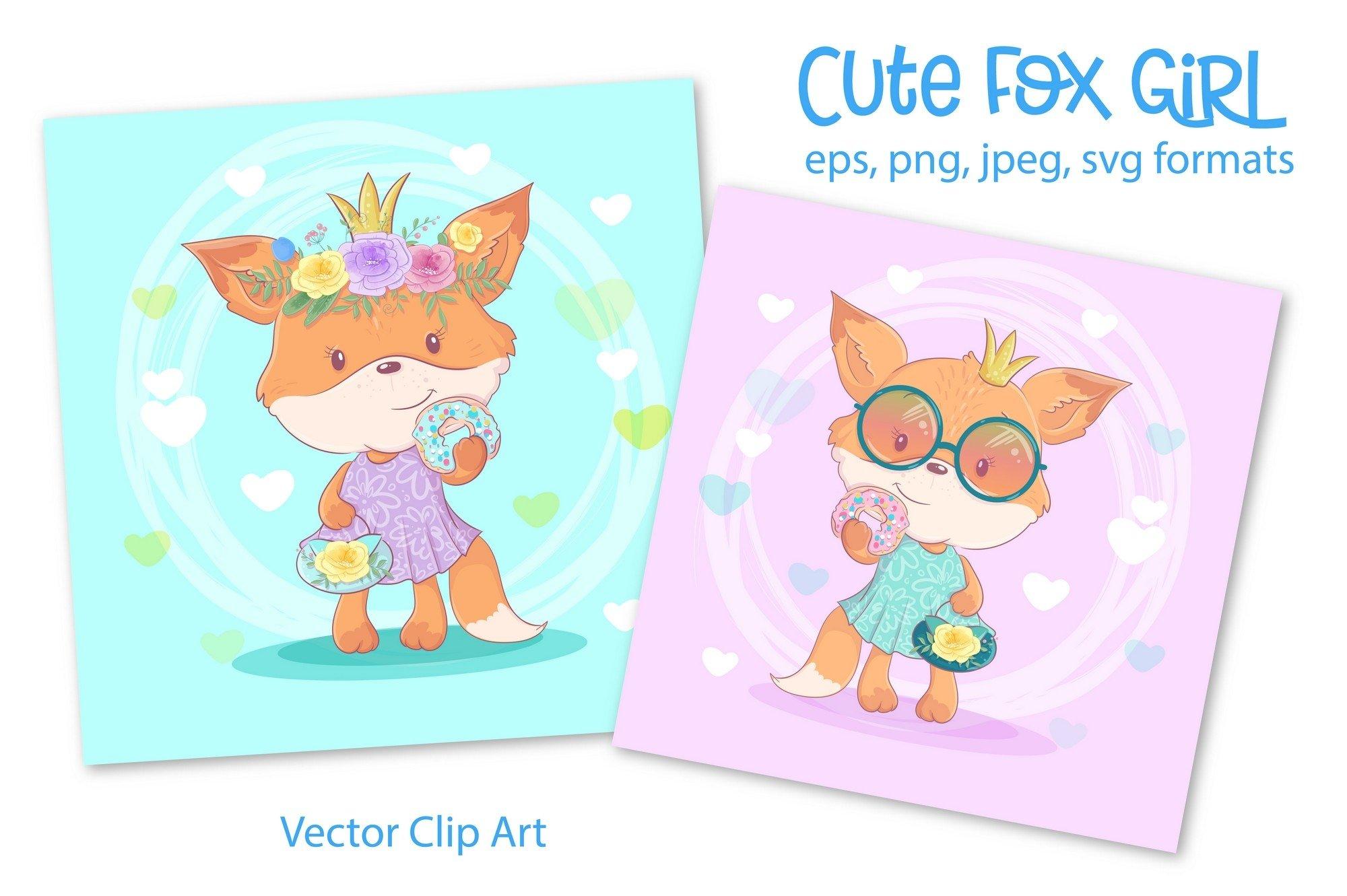 Cute Fox Girl example image 1