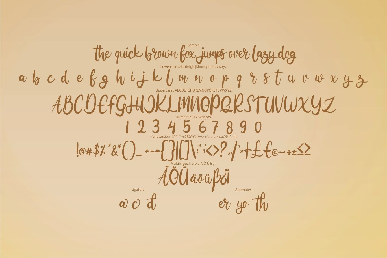 Mudega | Beauty Nature Script Font example image 6
