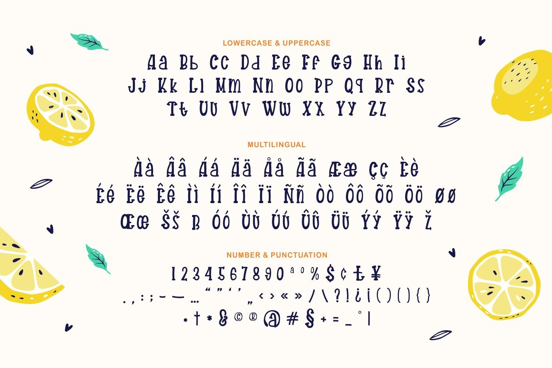 Ripe Fruidy - Playful Display Font example image 3