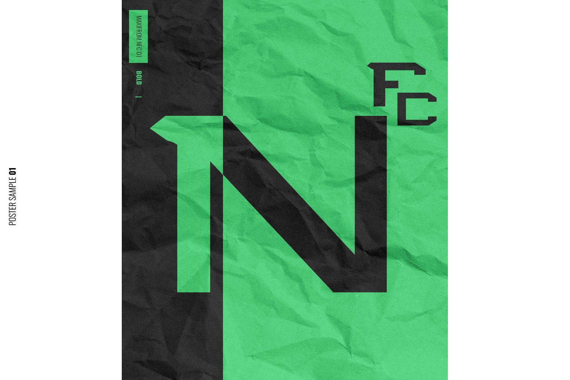 NFC MAXIMORF DISPLAY FONT example image 4