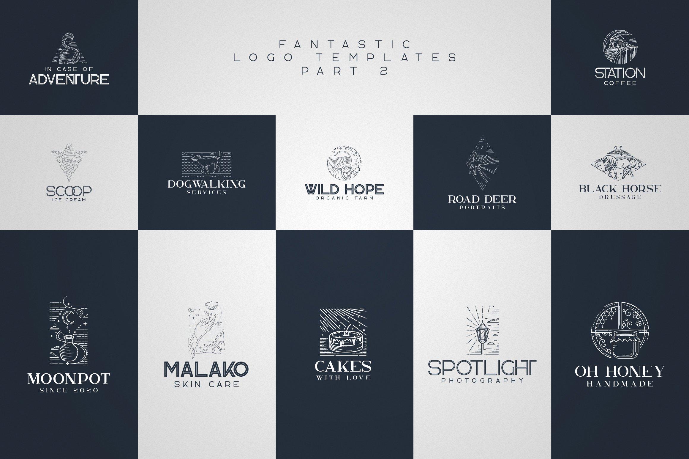 Kavo Family - 17 fonts 24 logos example image 8
