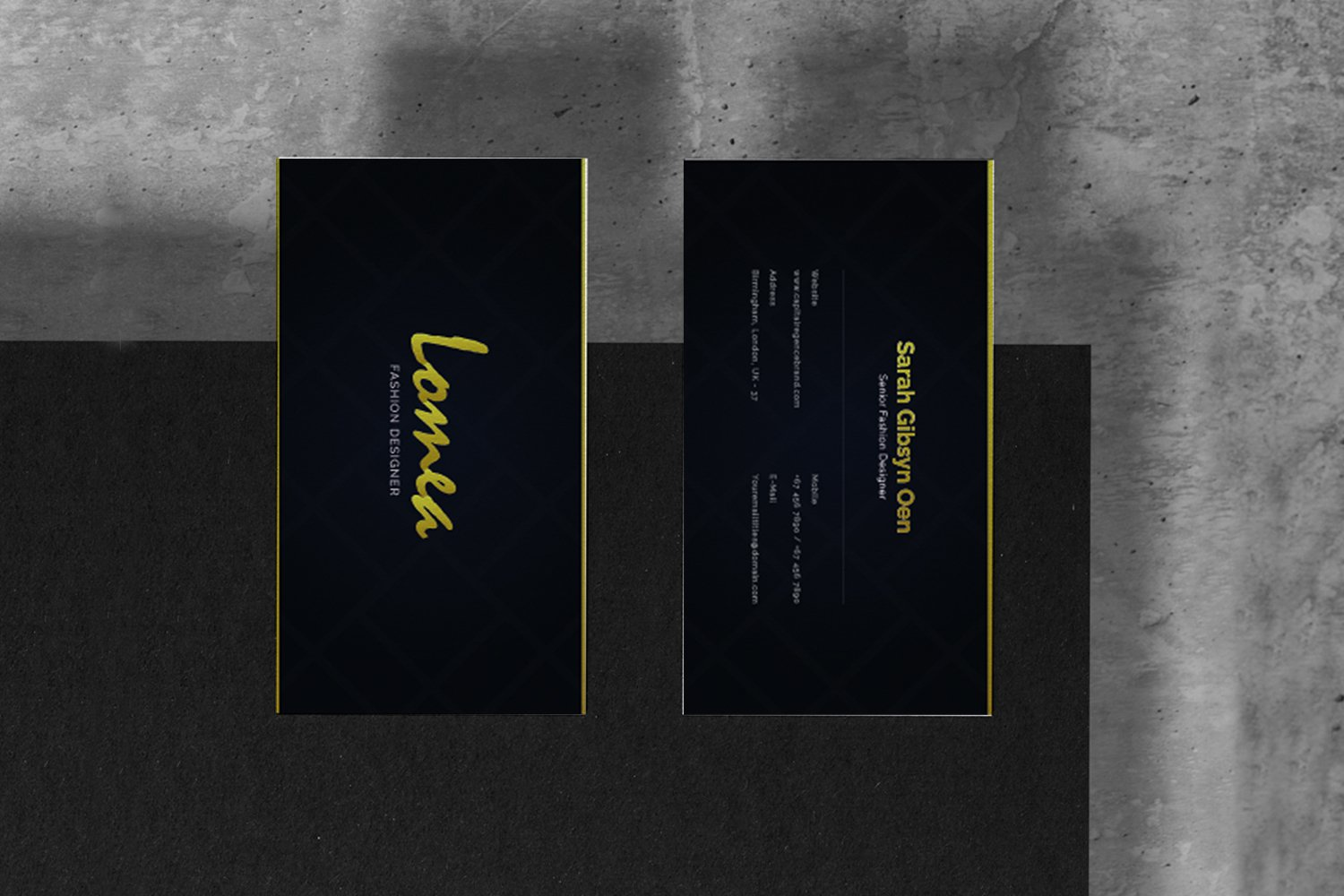 Lomea Business Card example image 4