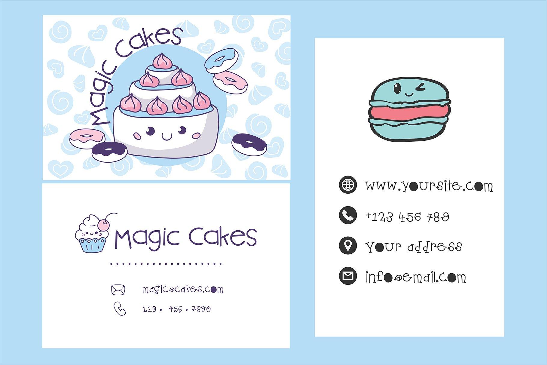 Homemade Bakery Handwritten- cute kid font Kawaii style! example image 4