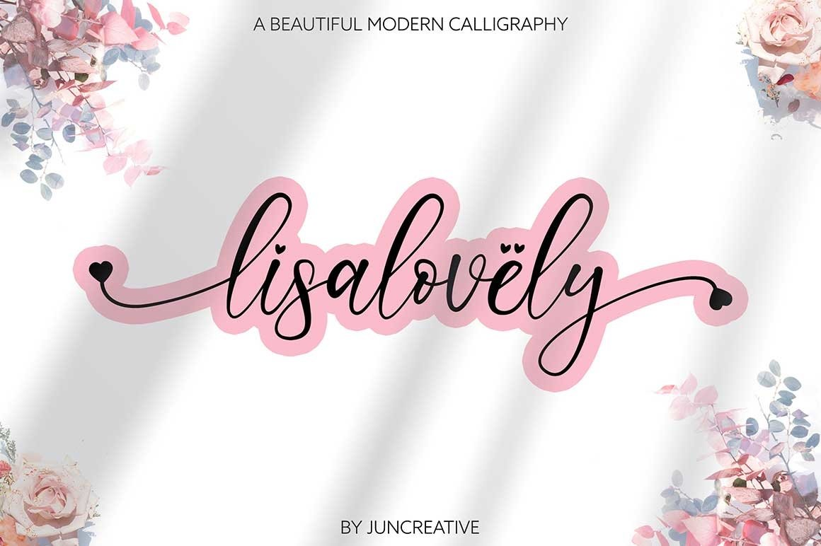 HUGE BUNDLE - Calligraphy Font example image 23