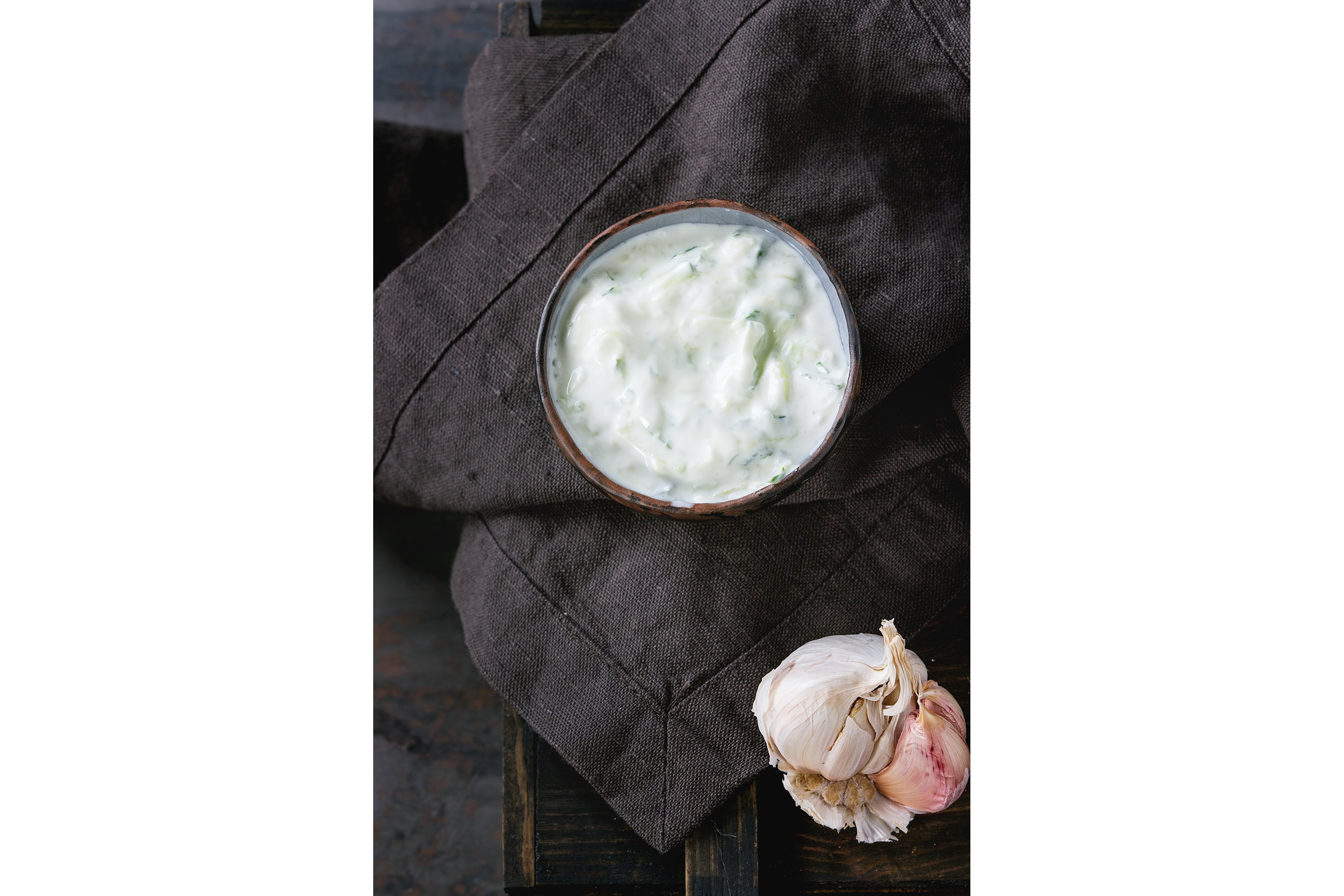 Greek sauce tzatziki example image 1