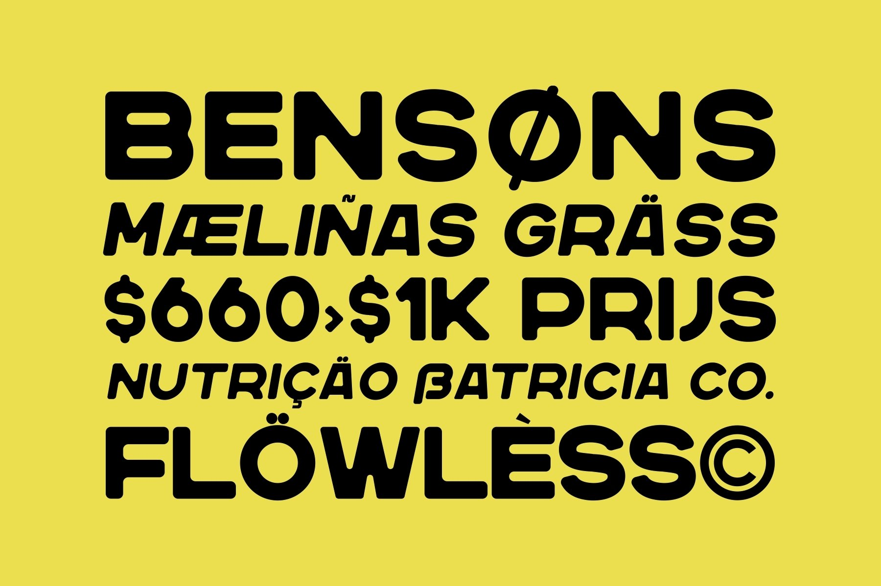 Nersans - Vintage Font with 3 Styles example image 4