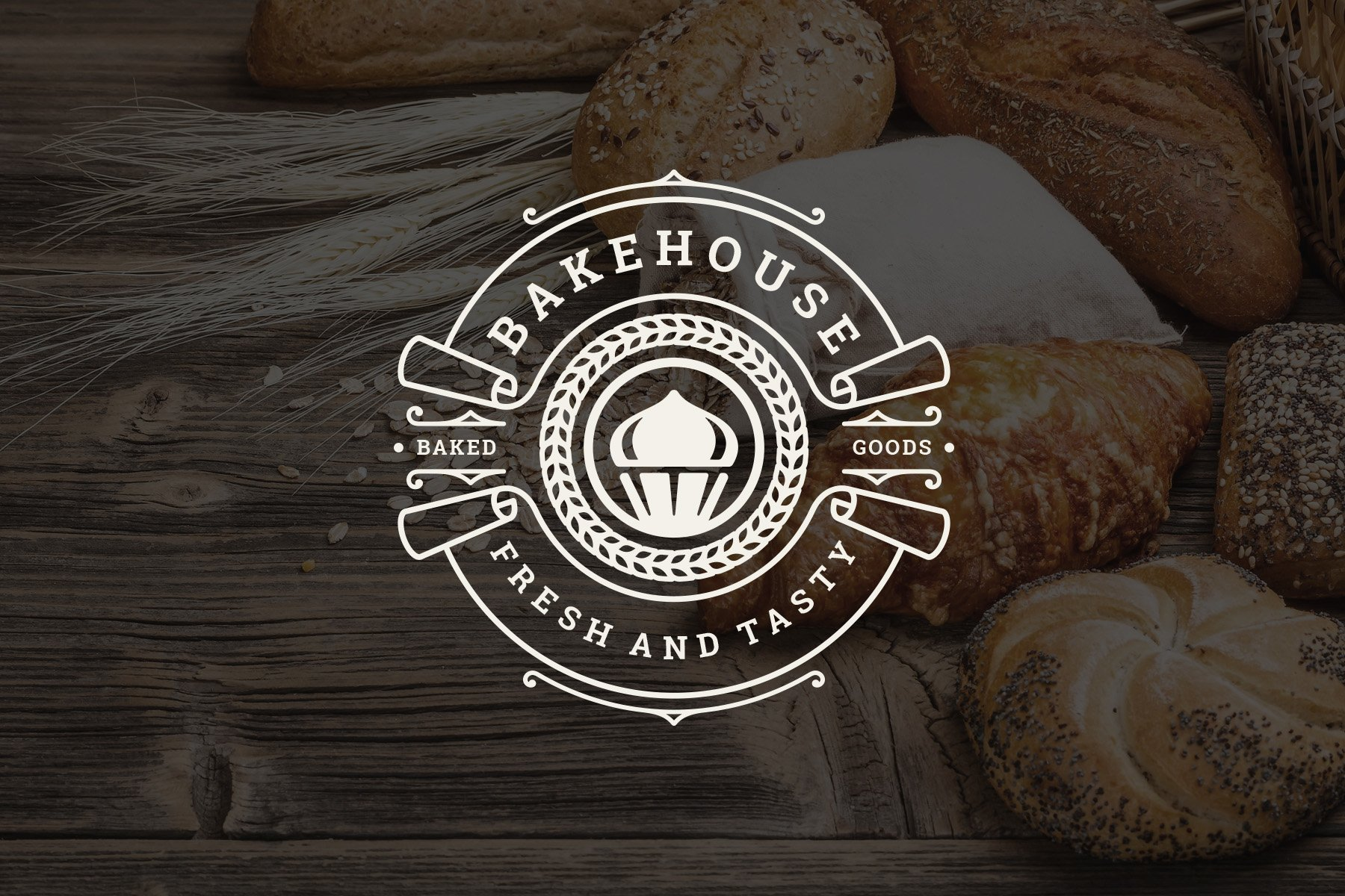 Bakery Logos and Badges example image 11