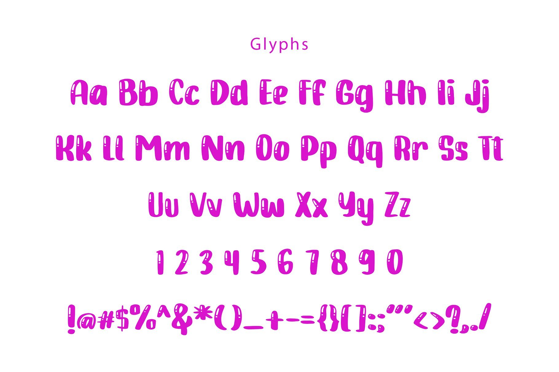 Candy Jelly Playful Display Font example image 6