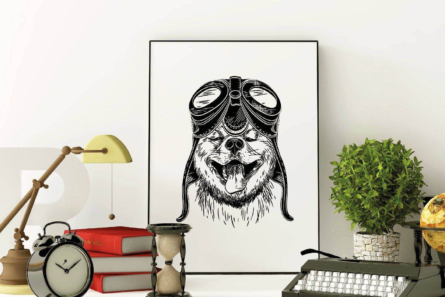 Animals with stylish accessories example image 5