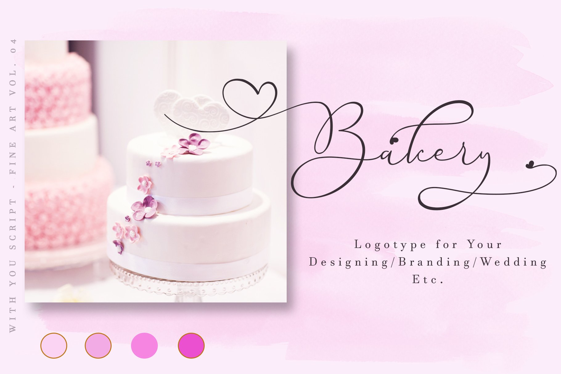 With You // Lovely Script Font example image 10