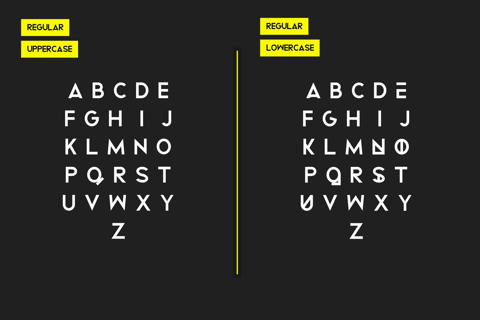 Bigboz Typeface Font example image 4