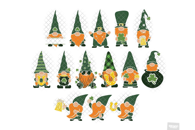 Download St Patricks Day Gnome SVG Sublimation in SVG,DXF,PNG,EPS ...