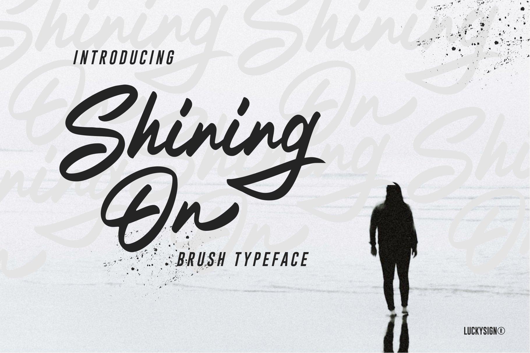 Shining On Logo Type example image 7