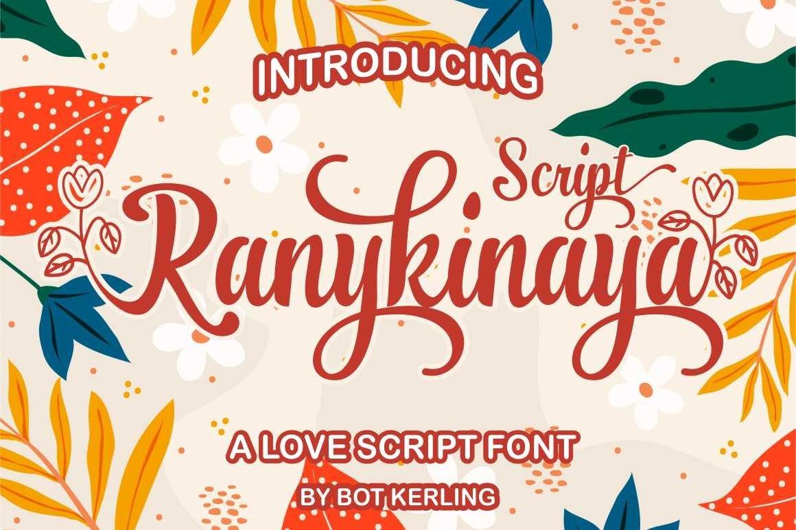 Ranykinaya Script example image 1